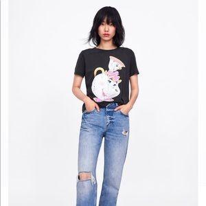 Zara X Disney Mrs. Potts and Chip Shirt